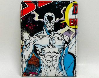 Sewn Comic Book Wallet - Silver Surfer