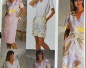 Sewing Pattern McCall's 2918 Misses Skirts, Pants, and Shorts UNCUT Complete Size 10-14 Waist 25-28 inches