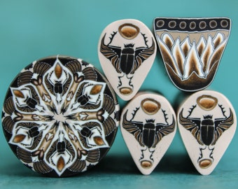 CLEARANCE SALE Set of 5 Canes - 'Queen of the Nile'