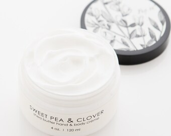Sweet Pea & Clover - Shea Butter Hand Creme