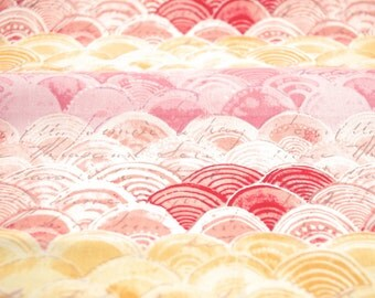 Itty Bitty in Pink from the Hello World Collection by Cori Dantini for Blend Fabrics - fabric by the quarter yard