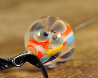 Spinner's Fetch Hook (Orifice hook) Eclectic Flower Mix