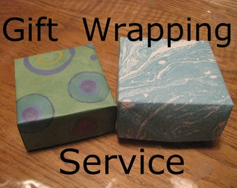 Gift Wrapping Add On Gift Wrapping Service