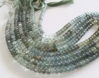 Moss aquamarine roundelles