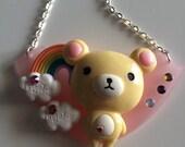 Sale!!! bears cloud deco Necklace (choose 1)