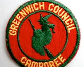 Boy Scouts Greenwich Council Jamboree Patch  - 1950s