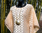 Vintage Caftan - Beach Morning - Free Size