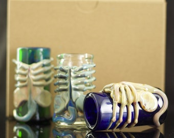 Facehugger Alien Shot Glass in Your Choice of Color