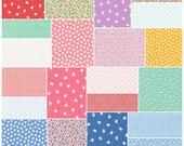 "Darlene Zimmerman NAPTIME 2 Precut 5"" Charm Pack Fabric Quilting Cotton Squares Robert Kaufman CHS-383-42"