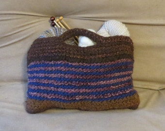 Craft Bag Wool and Alpaca Felted Bag