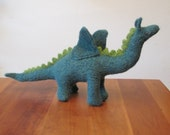 Plush Dragon Stuffed Dragon Stuffed Animal, Fiber Art Sculpture