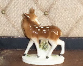 Vintage Porcelain Doe,Deer,Japan,Fawn