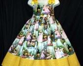 WIZARD of OZ Dorothy YELLOW Brick Road Sun Jumper Dress