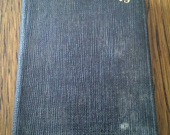 Vintage Little 1929 Date Book Pocket Sized Little Black Book Western Auto Supply