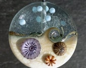 Lampwork Glass Bead (1) Ocean Murinne