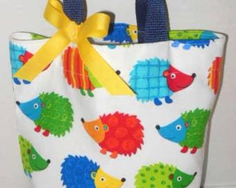 Hedge Hogs Tote/Gift Bag