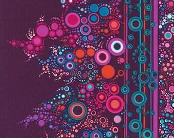 Effervesence Fabric Boysenberry