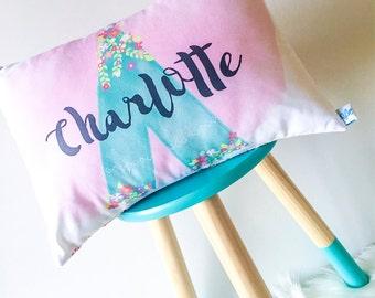 Girls Tee Pee Personalised Cushion