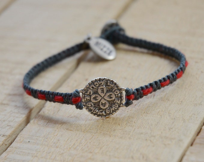 Love Amulet Handwoven with Red String Bracelet