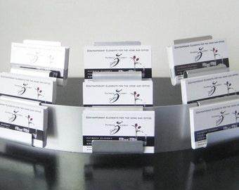 Modern Modular 9 Pocket Business Card Holder
