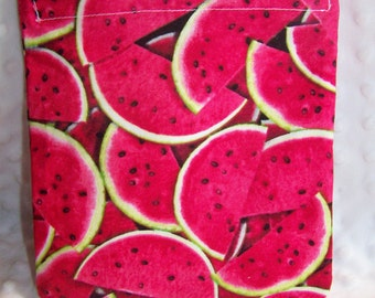 FREE SHIPPING Watermelon Slices Reusable Sandwich Snack Bag