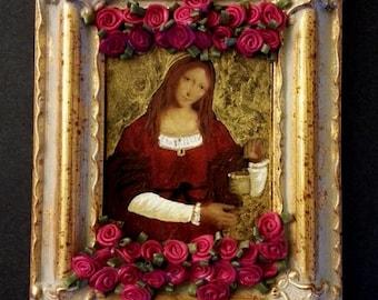 Mary Magdalene, retablo