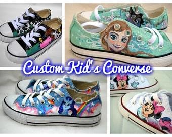 Custom Kid's Converse
