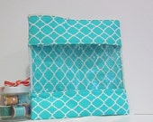 Extra Large Bag w/ window Cosmetic Bag Travel Bag Tote Bag Zip Pouch Needlework Bag