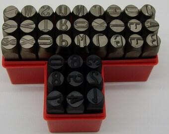 "36Pc. 1/2"" (12.5mm) Letter & Number Stamping Set"