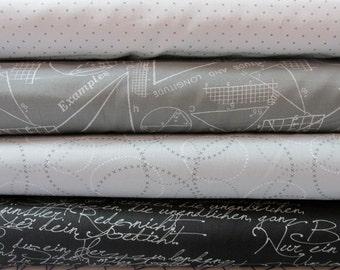 Modern Background Ink fabric