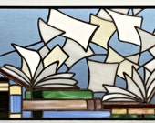 "Retail Piece ""Books with flying pages"" (R-15)"