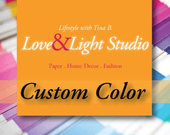 Custom Color for Your Digital Download