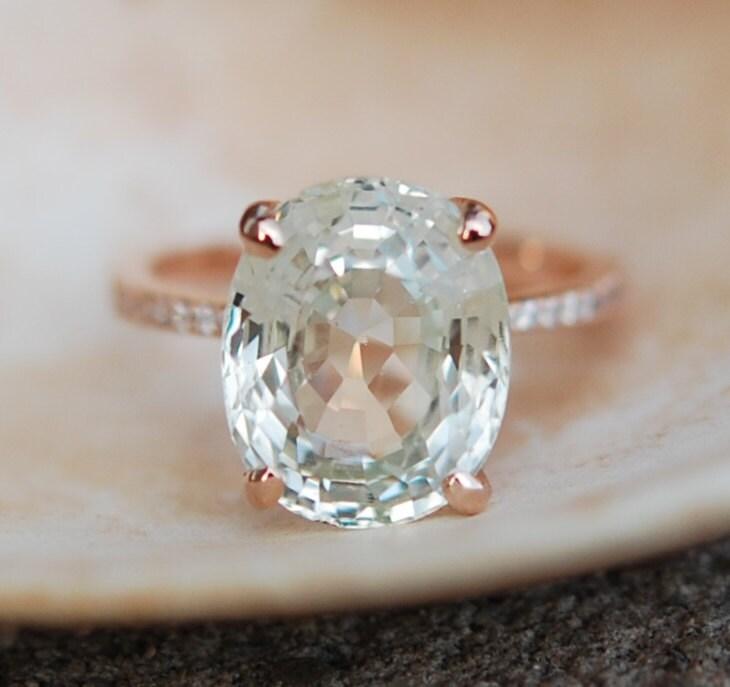 julianne hough ring sapphire engagement ring 18k gold