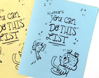 Kinoko's You Can DO THIS List