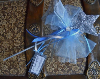 Blue Will You Be My Godmother Wand
