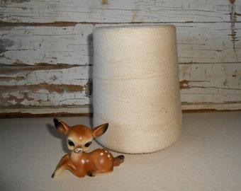 Vintage Knitting Yarn Cone, Vintage Sewing Spool,
