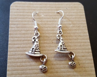Wizard Witches Hat Earrings