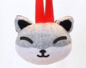 Kitsune Fox Japanese Christmas Ornament