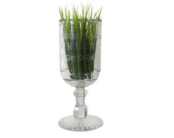 1880s Victorian Serving Cup, Antique Celery Server, Vintage Eleganc