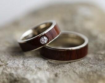 Ipe wood ring Etsy