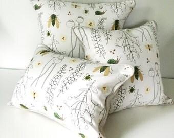 Herbarium Decorative Throw Pillow and Insert