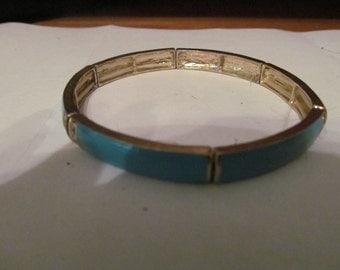 teal stretchy bracelet