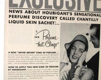 105 Chantilly perfume  - 1952