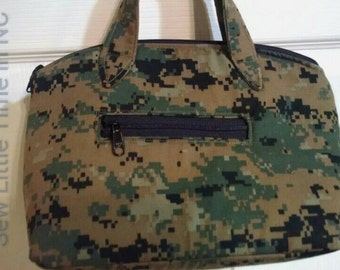 Sale: Use 15Off coupon to get 15% off, USMC MARPAT Woodland Handbag