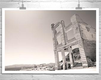 Death Valley, Ghost Town, Fine Art Photograph, Desert Landscape, Southwest Art, Southwest Desert, Wall Art, Mojave, MurrayBolesta