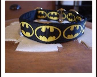 Bat Dog Dog Collar - JRT/Labrador/Vizsla/Poodle/Other Breed - House/Martingale/Side Release Buckle