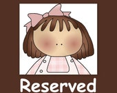 Reserved for Someone Special
