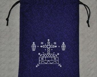 Baron Samedi voodoo tarot bag