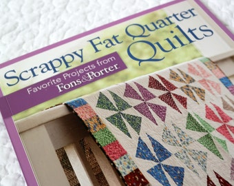 Last One! *** Scrappy Fat Quarter Quilts, Fons Porter, Precut Quilting
