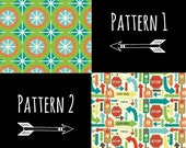 Wheels by Riley Blake Fabric Set - 2 Patterns, 1 Yard of Each - OUT OF PRINT